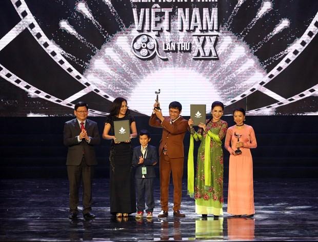 第20届越南电影节闭幕 4部最佳影片获金荷花奖 hinh anh 2
