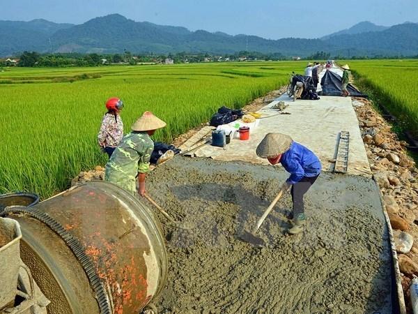 力争到2018年全国3300多个乡达到新农村建设标准 hinh anh 1