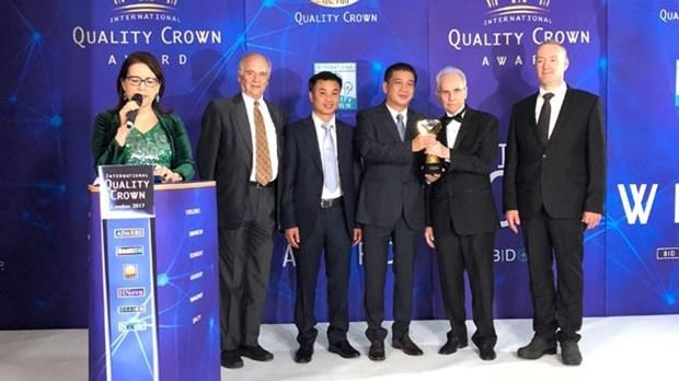 越南Viglacera浮动玻璃公司管理质量获殊荣 hinh anh 1