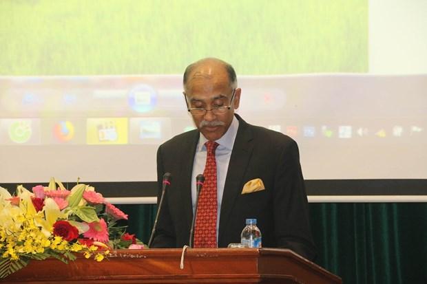 印度与越南九龙江三角洲地区各省加强农业合作 hinh anh 2