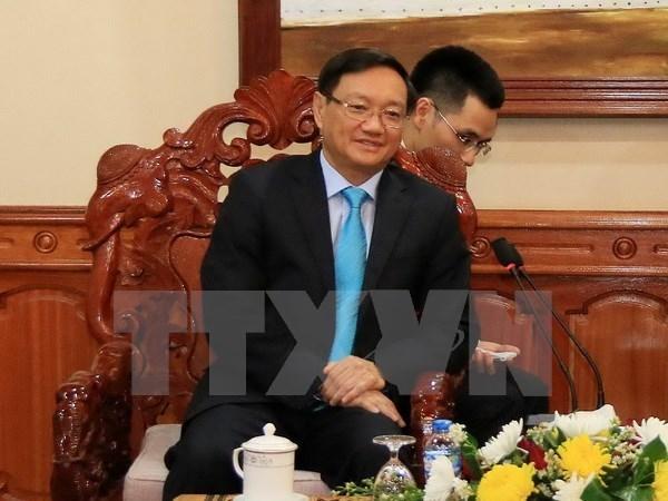 越南驻老大使馆祝贺老挝国庆 hinh anh 1