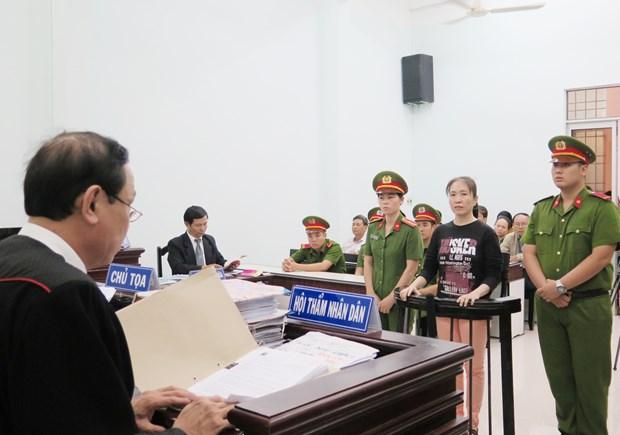阮玉如琼反国家宣传案:维持一审原判 对其判处10年监禁 hinh anh 1