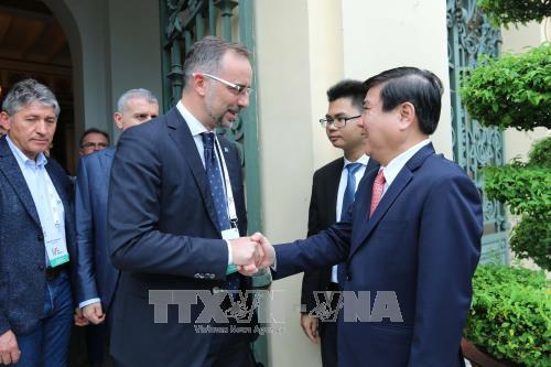 胡志明市与意大利加强投资合作 hinh anh 1
