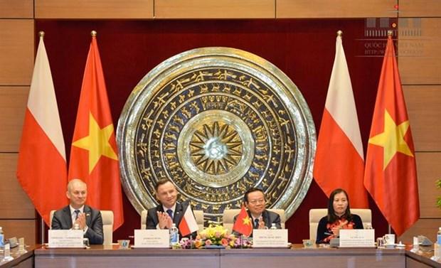 进一步加强越南国会和波兰议会友好议员小组的合作 hinh anh 1
