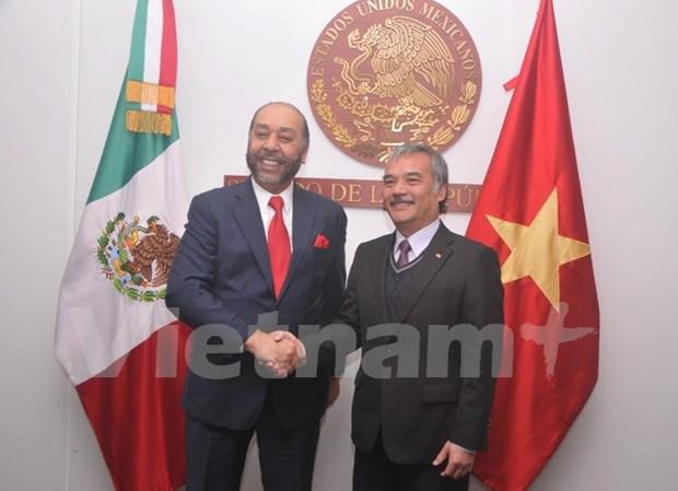 墨西哥重视与越南的关系 hinh anh 1