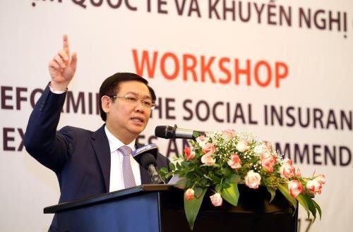 王廷惠:需将社会保险政策视为社会保障的支柱 hinh anh 1