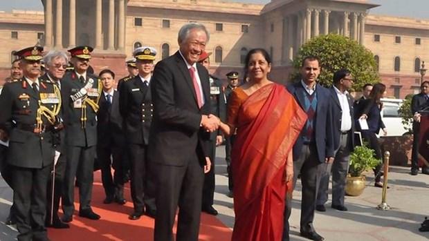 新加坡与印度将共同打击恐怖主义 hinh anh 1