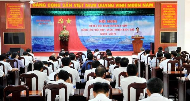 加大宣传力度 积极配合牢牢捍卫国家海洋与岛屿主权 hinh anh 1