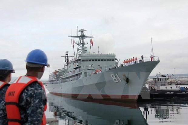 越中海军即将在北部湾海域进行第23次联合巡逻 hinh anh 1
