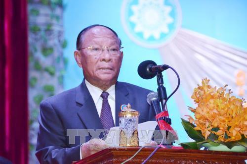 柬埔寨纪念柬埔寨民族团结救国阵线成立39周年 hinh anh 1