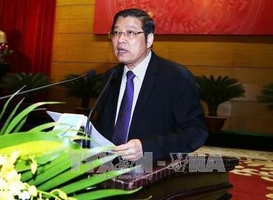 越南共产党代表团赴华出席中国共产党与世界政党高层对话会 hinh anh 1