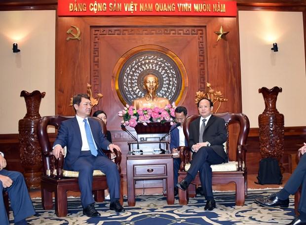 胡志明市与韩国促进合作提高教育质量 hinh anh 1