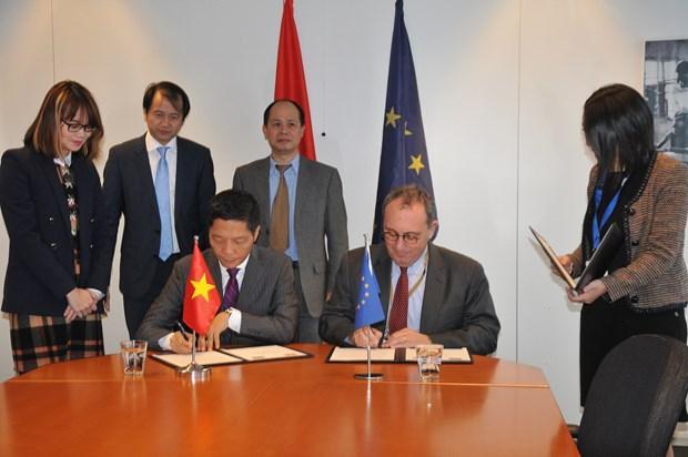 越南与欧盟共同努力 尽早就双边自由贸易协定达成一致 hinh anh 2