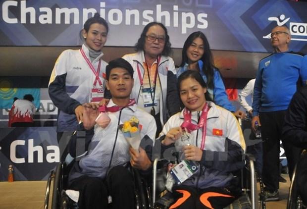 2017年世界残奥游泳锦标赛:越南再夺得两枚奖牌 hinh anh 1