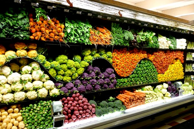 2017年前11月越南蔬果出口额增长43.2% hinh anh 1