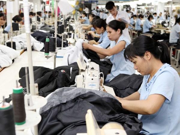 11月份越南工业生产指数同比增长17.2% hinh anh 1