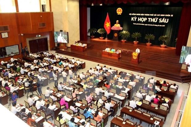 第九届胡志明市人民议会第六次会议正式拉开序幕 hinh anh 1