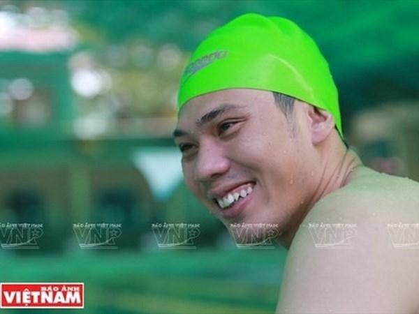 越南在2017年世界残奥游泳锦标赛夺得首铜 hinh anh 1