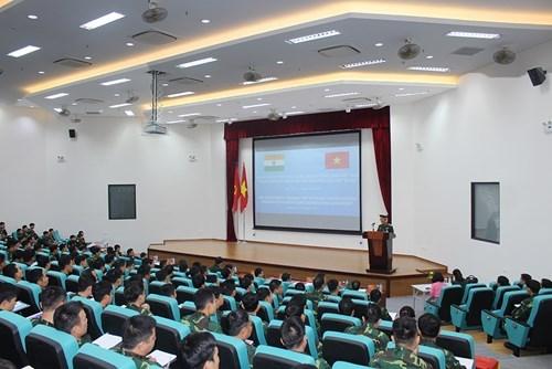 印度为越南维和工兵进行部署前培训 hinh anh 1