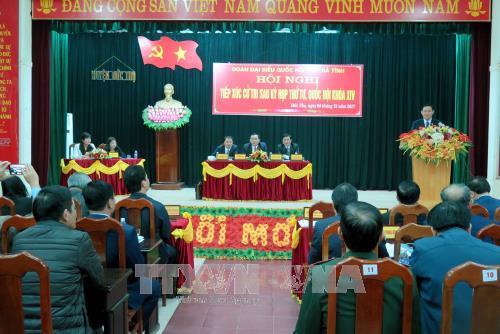 河静省德寿县力争2020年前完成新农村建设各项标准 hinh anh 1