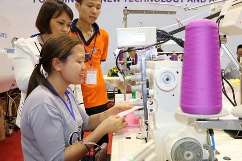 2017年越南纺织出口额有望达310亿美元 hinh anh 2