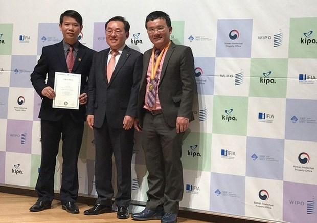 越南在2017年韩国首尔国际发明展获得金牌 hinh anh 1
