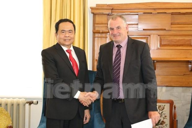 新西兰愿加强与越南的合作关系 hinh anh 1