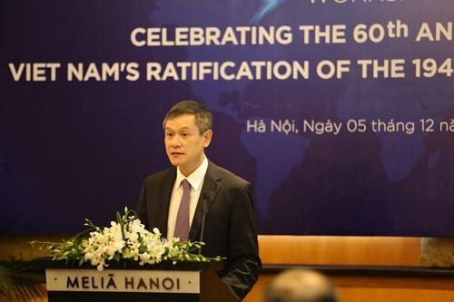 越南努力促进《关于国际人道法的日内瓦公约》的有效实施 hinh anh 1