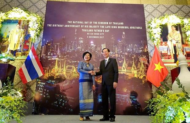 泰国国庆90周年纪念活动在胡志明市举行 hinh anh 1
