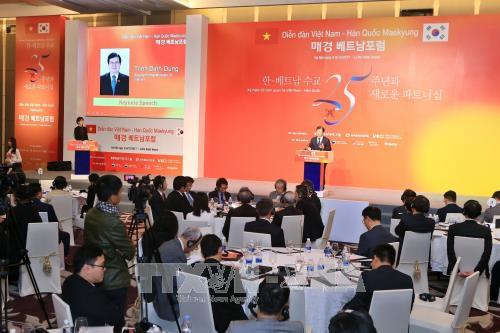越南欢迎韩国企业对高科技领域进行投资 hinh anh 1