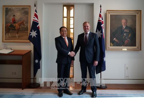 不断巩固与发展越澳关系 更好造福两国人民 hinh anh 1