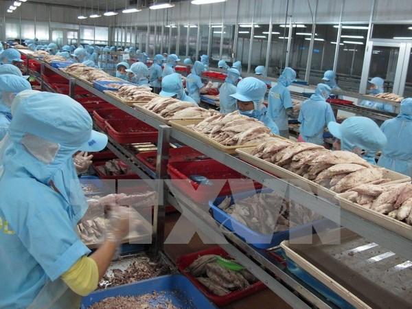2017年越南水产品出口额提前一月达到既定计划目标 hinh anh 1