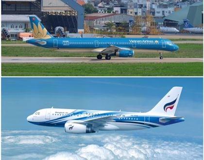 越航与曼谷航空签署代码共享协议 hinh anh 1