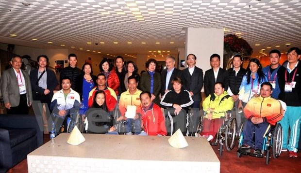 2017年世界残奥游泳锦标赛和举重锦标赛:越南体育代表团再夺得两枚银牌 hinh anh 1