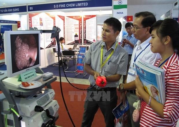 2017年越南国际医药医疗展在河内正式开展 hinh anh 2