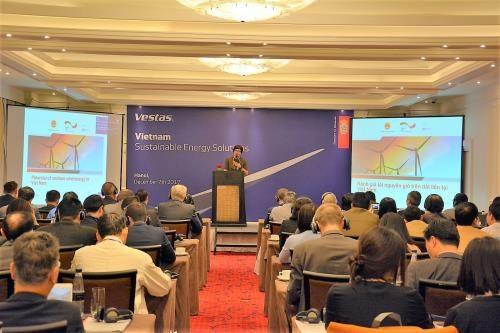 丹麦协助越南建设风力发电厂 hinh anh 1