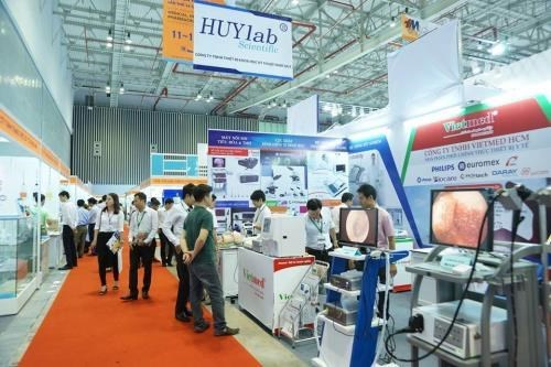 2017年越南国际医药医疗展在河内正式开展 hinh anh 1
