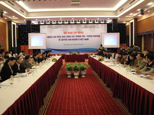 提高越南人权宣传工作的效果 hinh anh 1