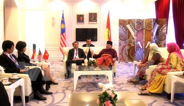 越南共产党代表团出席马来民族统一机构第71次代表大会 hinh anh 1