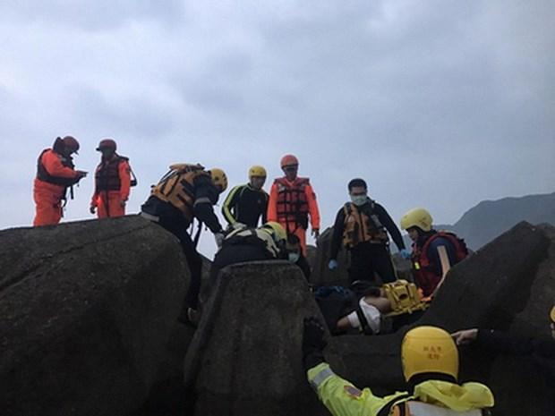抓紧寻找在台湾南雅渔港失踪的越南船员 hinh anh 1