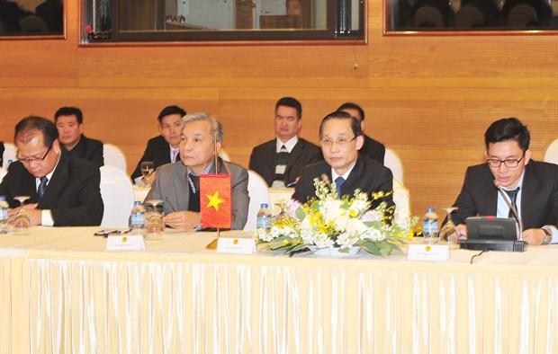 越老边境工作代表团第27次年度会议在河内召开 hinh anh 1