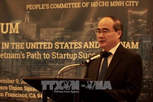 加强美国越南人创新创业企业与国内企业的对接 hinh anh 2