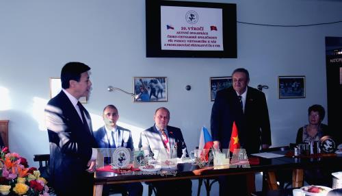 捷越友好协会第21次代表大会在布拉格举行 hinh anh 1
