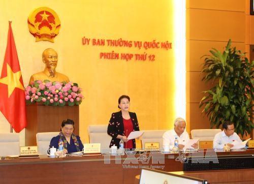 越南国会常务委员会第十九次会议将审议许多重要内容 hinh anh 1