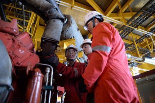 PVN原油开采量超出原计划 hinh anh 1