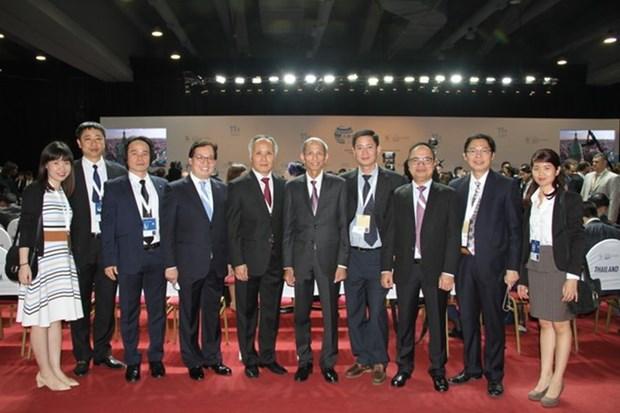世贸组织第十一届部长级会议在比利时开幕 hinh anh 1