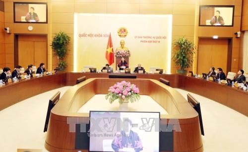越南第十四届国会常委会第十九次会议在河内召开 hinh anh 1