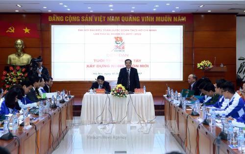 阮春强部长:青年是新农村建设中的重要力量 hinh anh 1
