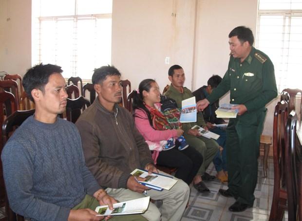 越柬建交50周年:共同建设一条和平、友好的越柬边界线 hinh anh 1