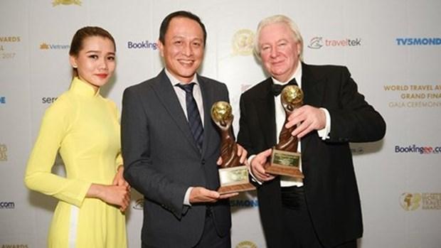 越南航空公司荣获2017年世界旅游大奖两个权威奖项 hinh anh 1